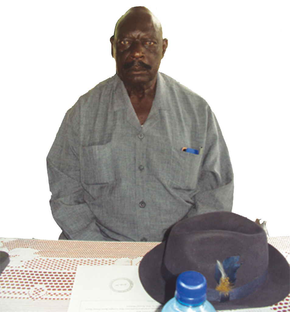 Former Chief of the Mafwe Tribe , Mr. Richard Temuso Muhinda
