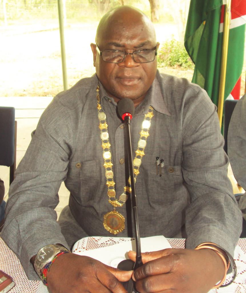 His worship mayor of Katima Mulilo,           Mr. Charles Matengu