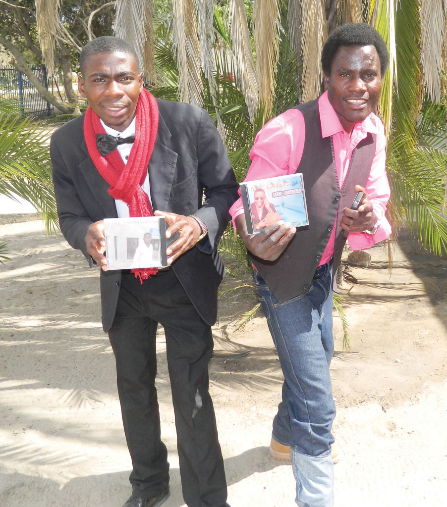 Ed- gee (Edgar Siusiku) and Mr. Carlo2 (Simbuwa Chrispin)