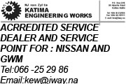 Katima Engineering Advert