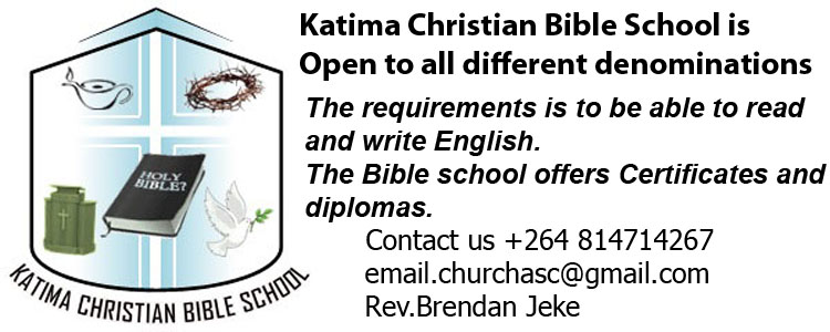 KATIMA CHRISTIAN BIBLE SCHOOL