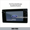 Ford Econoline/Escape/Expedition/Explorer OEM stereo radio car DVD player GPS navigation TV SWE-F7393